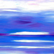 Lavender Water Art Print