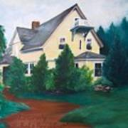 Lavern's Bed And Breakfast Art Print