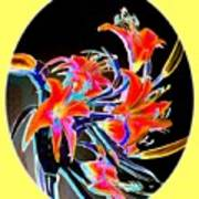 Lavish Lilies 2 Art Print