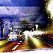 Lax Tunnel Art Print