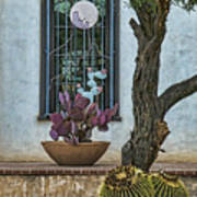 Layers Of Cactus Art Print