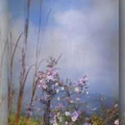 Layers Of Wildflowers Art Print