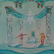 Le Bourgeois Gentilhomme Art Print