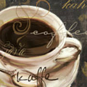Le Cafe Dark Art Print