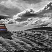 Le Camion Rouge Art Print