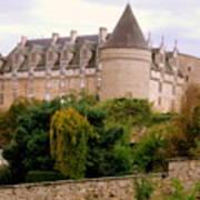 Le Chateau De Rochechouart Art Print