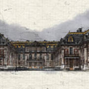 Le Chateau De Versailles Art Print