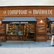 Le Comptoir De Mathilde Art Print