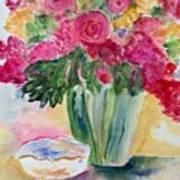 Le Fleur  Art Print
