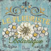 Le Fleuriste De Botanique Art Print