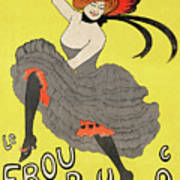 Le Frou Frou Vintage Poster By Leonetto Cappiello, 1899 Art Print