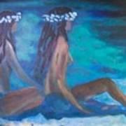 Le Hawaiane  Art Print