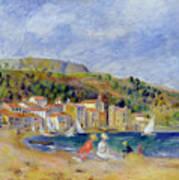 Le Lavandou Print by Pierre Auguste Renoir