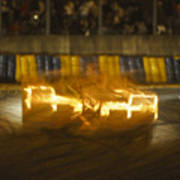 Le Mans On Fire Art Print