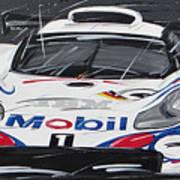 Le Mans Porsche 911 Gt 1995 Art Print