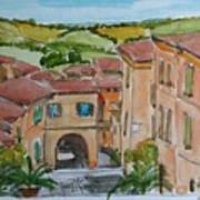Le Marche, Italy Art Print