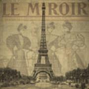 Le Miroir Art Print