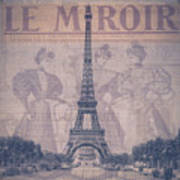 Le Miroir - Paris Art Print