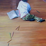 Le Petit Artiste Art Print
