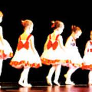 Le Petite Ballet Print by Margie Avellino