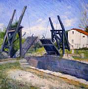 Le Pont De Langlois A Arles Provence France 2004  Art Print