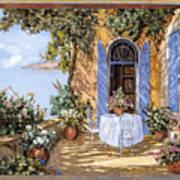 Le Porte Blu Art Print