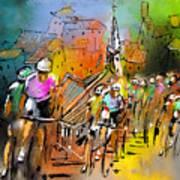 Le Tour De France 04 Art Print