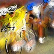 Le Tour De France 05 Art Print