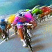 Le Tour De France 09 Art Print