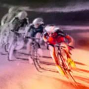 Le Tour De France 13 Art Print