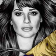 Lea Michele Collection Art Print
