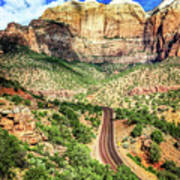 Lead Me To Zion Art Print