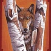 Leader Wolf Art Print by Billie Bowles