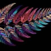 Leaf Reflection Art Print
