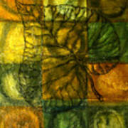 Leaf Whisper Art Print