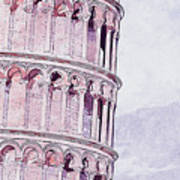 Leaning Tower Of Pisa - 03 Art Print