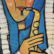 Learn To Work The Saxophone Art Print