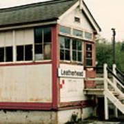 Leatherhead Station Art Print