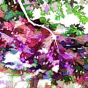 Leave In Autumn Art Print
