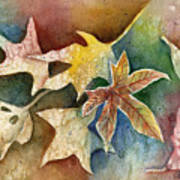 Leaves Of Autumn Art Print