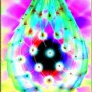Led Lamp Easter Drop Did Not Faberge Art Print by Yuri Shevnin