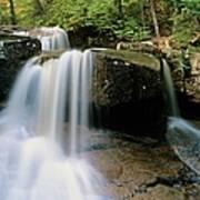 Ledge Brook - White Mountains New Hampshire Usa Art Print