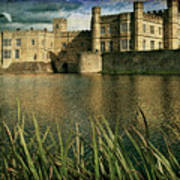 Leeds Castle In Kent Art Print