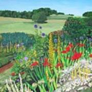 Leeds Garden Art Print