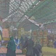 Leeds Market Art Print