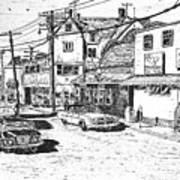 Leeside Tavern Art Print