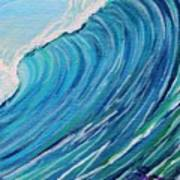 Lefthand Wall Of Water Art Print
