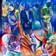 Legacies Of Resistance Art Print by Khalid Hussein