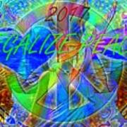 Legalize Peace Art Print