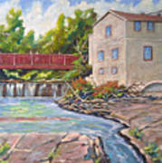 Legare Mill Art Print